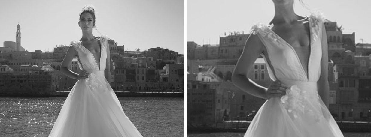 A J Designers Bridal Collection Nasce Dalla Collaborazione Di Due Designer Adi Sholomo Julie Vino Insieme Hanno Creato Una Linea Per La Sposa